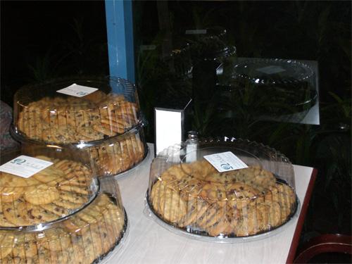 Fresh cookies!