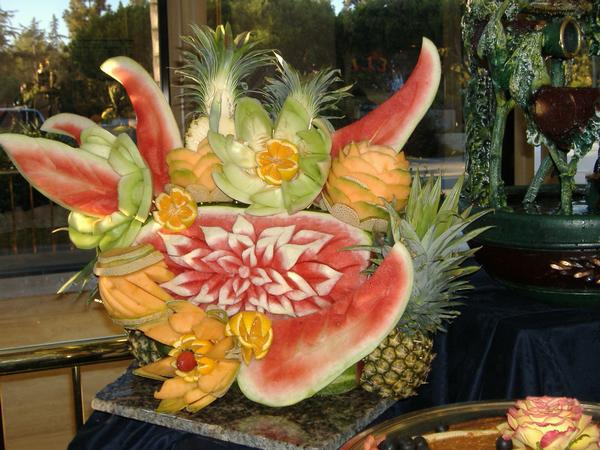 Fresh Fruit Sculpture