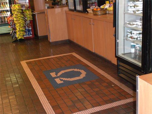 Omega Floor Tile Mosaic